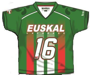 Euskal Lacrosse Verde Masc 2014