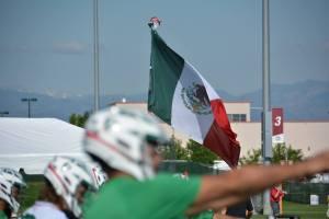 Cortesía Federación Mexicana de Lacrosse. Denver 2014