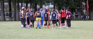 Partido de pretemporada UNAM vs IPN. Marzo 2015. Foto cortesía de UNAM Lacrosse