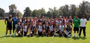 Equipos UNAM Pumas lacrosse y selección mexicana. Foto cortesía de César Augusto FG